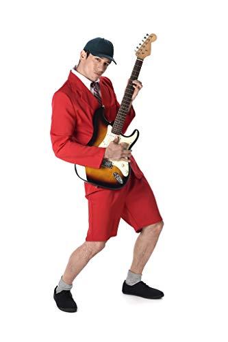 Karnival 21,6cm School Boy Rocker Kostüm, Herren, Violett, Größe M (School Boy Kostüm)