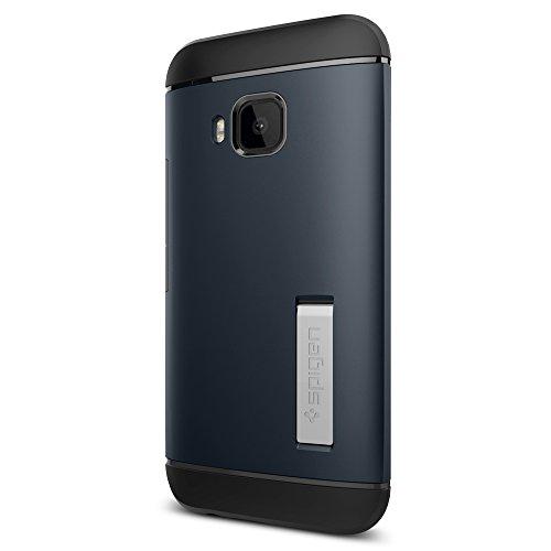 Spigen HTC One M9 Case Slim Armor Series Metal Slate...