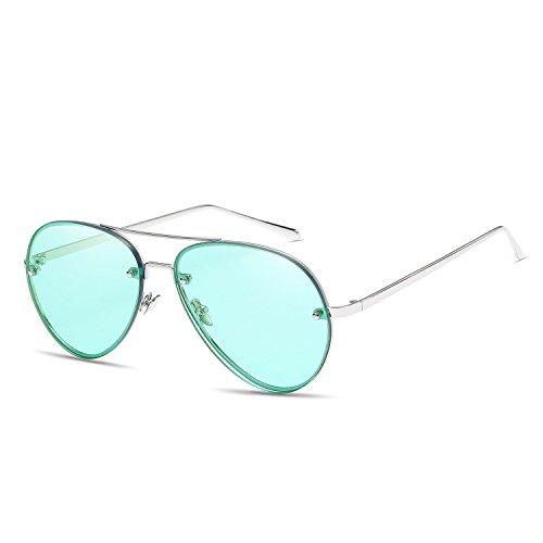 Superleichter Rahmen Sport Sonnenbrille Großhandel Europa und den Vereinigten Staaten Trend Visier Spiegel Persönlichkeit Pilot Sonnenbrille Sonnenbrille marine Sonnenbrille Skifahren Angeln Golf