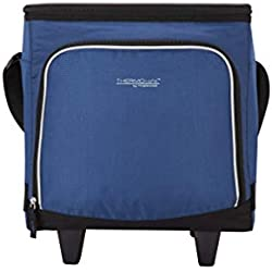 Thermos Wheeled Family Cool Bag, Polyester, Navy, 28 Litre