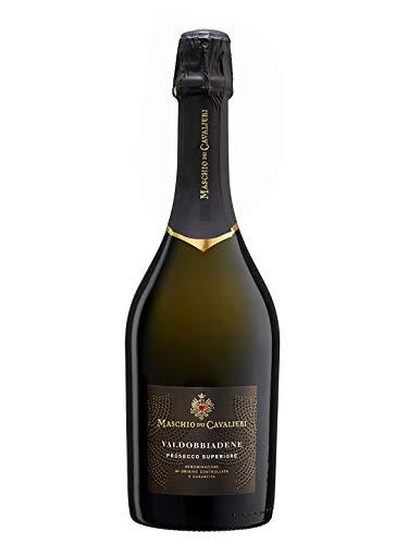 Valdobbiadene prosecco superiore docg extra dry - cantine maschio - vino bianco spumante - bottiglia 750 ml