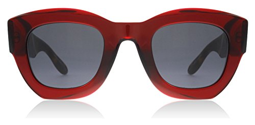 Givenchy gv 7060/s ir c9a, occhiali da sole unisex-adulto, rosso (red/brown), 48