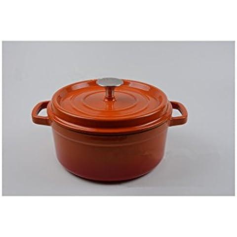 Esmaltado sartén Pot esmalte de hierro fundido de hierro fundido Exportación de la original único Factory Direct Wholesale Custom