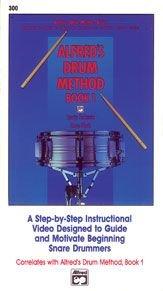 Preisvergleich Produktbild Alfred's Drum Method - Book 1 (VHS)