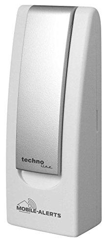Erweiterbar System (Basisstation, MA 10000, Mobile Alerts, Hausüberwachung, Hausüberwachungs-System, beliebig erweiterbar, zur Temperaturüberwachung und Haussicherheit, weiß 4 x 2,5 x 10,3 cm)