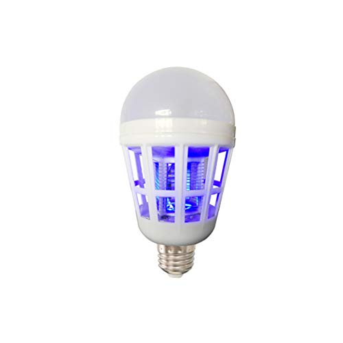 Preisvergleich Produktbild Yjmgrowing Bug Zapper Glühbirnen Moskito Mörder Lampe UV LED Elektronische Insekten & Fly Mörder Für Innen Und Outdoor,  15 watt (2 Pcak)