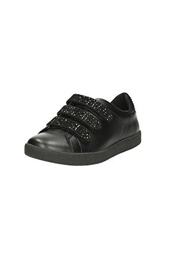 Liu Jo Sneaker Damen Running Aura Con Velcri Strass Leder Nero