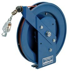 Spring Reel Rewind (Coxreels SD-35 Spring Rewind Static Discharge Cable Reel: 35' cable by Coxreels)