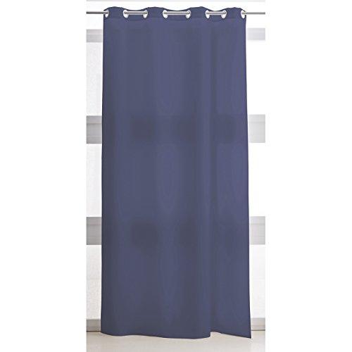 Today 257301 - tenda con passanti, in poliestere, dimensioni: 140 x 260 cm, poliestere, ciel d'orage/bleu marine, 140x260 cm