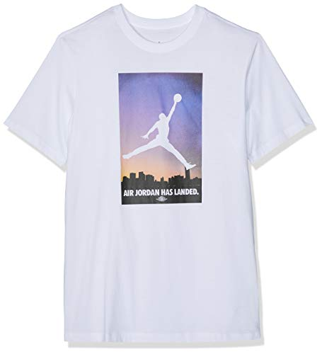 new style 5a1a1 3339c Nike Air Jordan 23 Tee, T-Shirt Uomo, White Rose Gold,