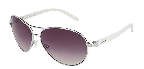 Fastrack Aviator Sunglasses (Silver) (C053BK2F) image