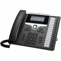 Cisco CP-7861-K9= - 7861 IP-Telefon Schwarz, Silber Kabelgebundenes Mobilteil LCD 16 Zeilen UP Phone 7861 Cisco Lcd