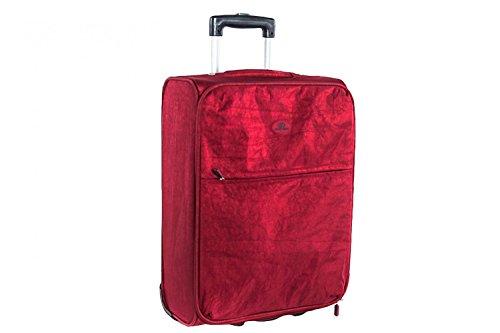 Valigia trolley semirigido SWISH JEANS rosso mini bagaglio ryanair S71