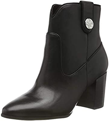Guess Cypher/Stivaletto (Bootie)/Lea, Botines para Mujer, Negro (Black Black), 37 EU