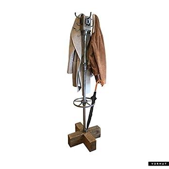 Vorhut 'Carew' – Vintage Industrial Coat and Umbrella Stand (Vorhut 'Utterson' – Vintage Industriegarderobe)