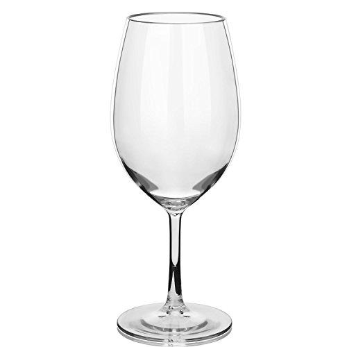 Ahhipo Bruchsichere Weingläser 100% Tritan-Kunststoff, BPA-frei, wiederverwendbar,...