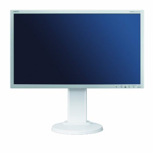 NEC Displays MultiSync E201W 20 inch Widescreen LCD Monitor with LED Backlight (16:9, 250 cd/m, 1000:1, 1600 x 900, 5ms) - White