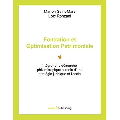 Fondation et Optimisation Patrimoniale