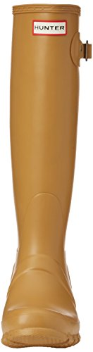 Hunter Bota Original Tall, Bottes femme Beige - Beige (Burnt Sulphur)