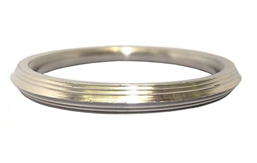 Stainless Steel bracelet for Men 1 cm thick (Internal diameter: 7)