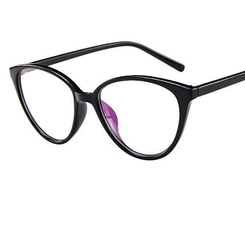 Preisvergleich Produktbild REALIKE Unisex Brille Elegant Flacher Spiegel Runder Rahmen Brillengestell Brille Anti-Blaulichtbrille,  Leopardenmuster-Brillengestell Aus,  (Farbe : Mehrfache)