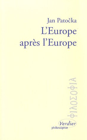 L'Europe après l'Europe par Jan Patocka