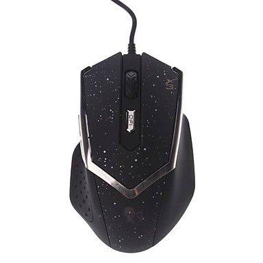 Genius X3Umschalt ergonomisch 6D DPI Professional Gaming beleuchteten USB 2.0optische Maus Silber silberfarben -