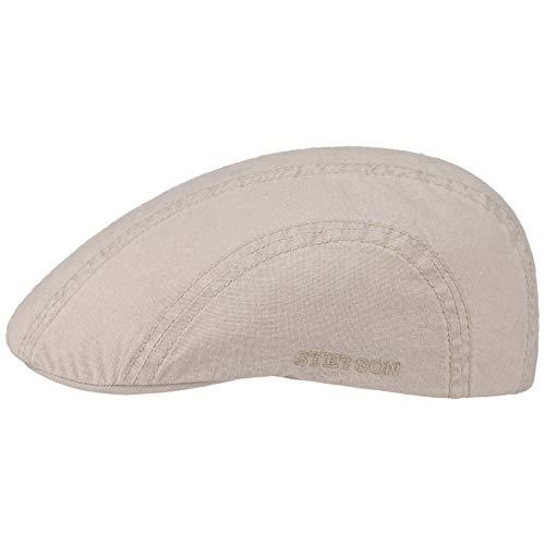 Stetson Hat Company (Stetson Madison Delave Schiebermütze Damen/Herren   Baumwollcap Sommercap mit Schirm Frühling-Sommer   S (54-55 cm) beige)
