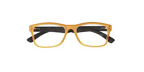 El Charro Occhiali da Lettura Modello Nevada Arancione/Nero, Diottria +2-1 Prodotto