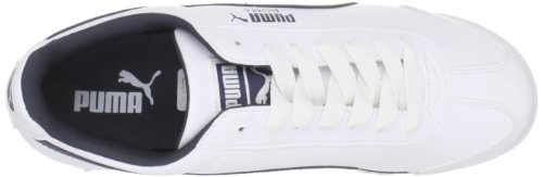 Puma  Roma Basic, Baskets mode pour homme White-teamregalRed White-New Navy