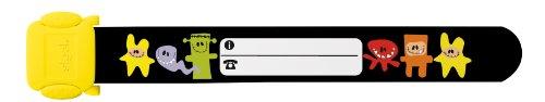Sigel ID007 Kinder-Sicherheits-Armband, Monster, zum Beschriften, 19,7 cm lang