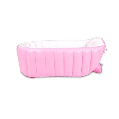 Mustbe strong Kinder Pool Verdickte Erwachsene Aufblasbare Pool Super High Familie Kind Drama Pool Jacuzzi 98 * 65 * 28cm , pinkfor Outdoor