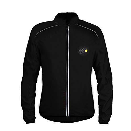 Zolimx Herren und Damen Jacke Wasserdichter Windbreaker Jackenschutz Laufbekleidung Radsportanzug,...