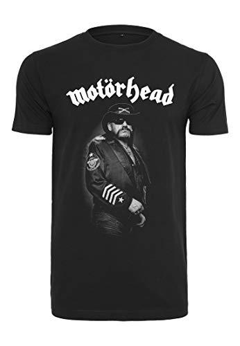 MERCHCODE Herren Motörhead Lemmy Warpig T-Shirt, Black, 2XL