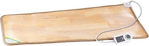 infactory Beheizbare Fußmatte: Beheizbare Infrarot-Fußboden-Matte, 105 x 55 cm, bis 60 °C, 150 Watt (Beheizbare Bodenmatte)
