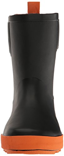 Kamik Unisex-Kinder Rainplay Gummistiefel Schwarz (Black & Orange)