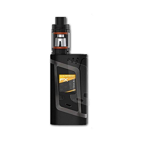 Preisvergleich Produktbild atFoliX Schutzfolie für Smok Alien Displayschutzfolie - 2 x FX-Antireflex blendfreie Folie