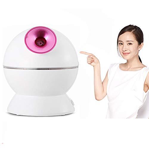 Facial Steamer Professional Gesichtsnebel mit Aromatherapie-Diffusor Kühlung Erwärmung Erwärmung Gesicht Luftbefeuchter, persönliche Spa-Haut Körperpflege (3 in 1)) kalt, heiß, warm