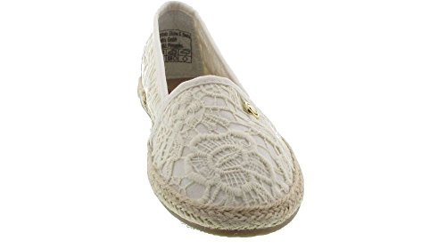 TOM TAILOR Damen 4892013 Espadrilles Beige (Cream)