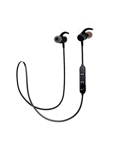 Lumy cuffie auricolari bluetooth 4.2v wireless stereo in-ear cvc audio di qualità (nero)