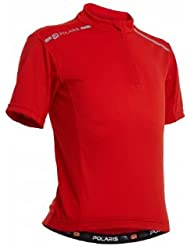 Polaris MINI ADVENTURE JERSEY, Red, XL
