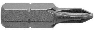 440-1X Apex Phillips #1 1/4'' Hex Insert Screwdriver Bits From