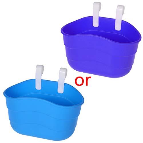 follwer0 Korb für Kinderfahrrad, Kunststoff, für vorne/hinten, 5 Farben Fahrradkorb (Blau)