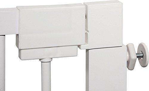 IB-Style – Treppengitter / Türgitter KOLBY M | 3 Größen |86 – 92 cm | aus massivem Holz – Weiß - 5