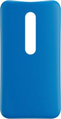 Prosper Back Replacement cover for Moto G (3rd Gen)(Blue)