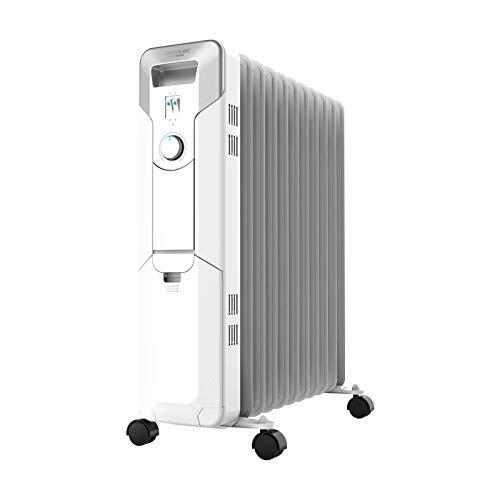 Cecotec Radiador de Aceite Ready Warm 5700 Space. 11 Módulos, Bajo Consumo, Termostato Regulable, 3...