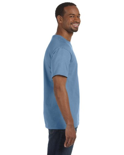 Hanes Mens T-Shirt (5250) Stonewashed Blue