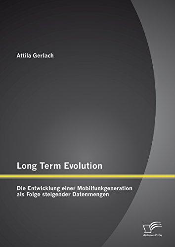 Long Term Evolution: Die Entwicklung einer Mobilfunkgeneration als Folge steigender Datenmengen (S/s Bandbreite)