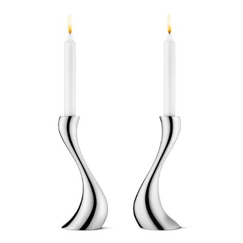 Georg Jensen candeliere Cobra Confezione da