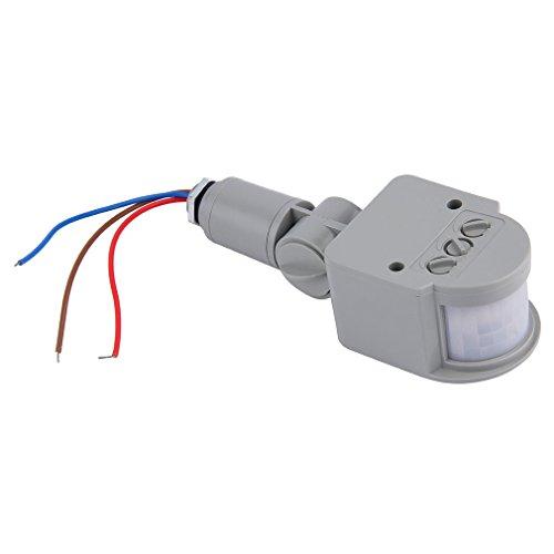 ulable Outdoor AC 220V Automatische Infrarot-PIR Motion Sensor Schalter für LED-Licht (220v Motion-sensor-schalter)